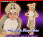 FANCY DRESS COSTUME  NEW DISNEY THUMPER AGE 2-3 YEARS